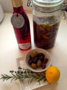 Marinated Herb Olives