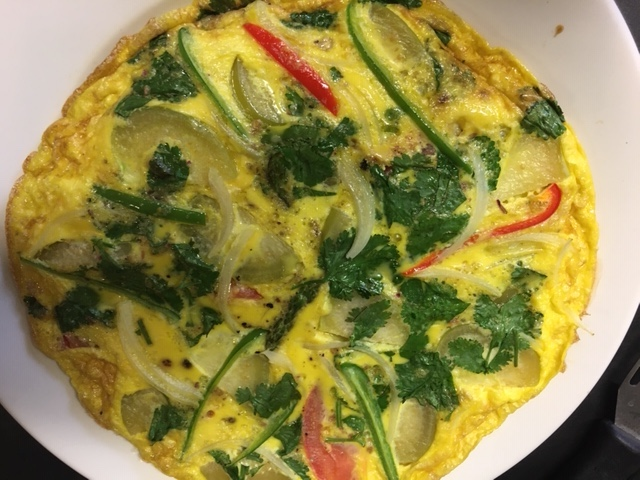 Frittata with Veggies and Herbs