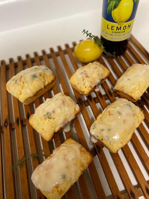 Lemony Herb Cakes