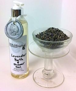 Herbal Bath and Shower Gels - Lavender