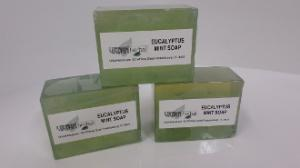 Herbal Soaps - Eucalyptus and Mint